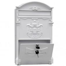 пя - 999  цвет кипельно-белый антик, материал алюминий-сталь, 410*255.5*90 мм., вес 2 кг., подарочная упаковка.