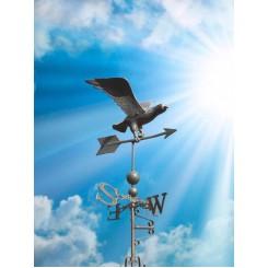 Объемный флюгер * ОРЕЛ * материал алюминий , высота в сборе 1 метр , вес 5 кг.   ШИКАРНЫЙ И СТИЛЬНЫЙ
